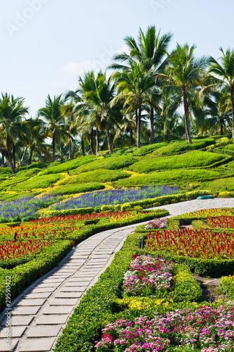 Panel Szklany Beautiful gardens
