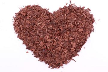 Chocolate full heart