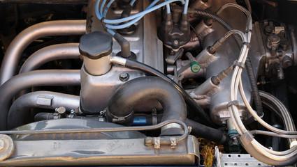 moteur de voiture de sport