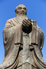 Confucius Statue in Beijing, China