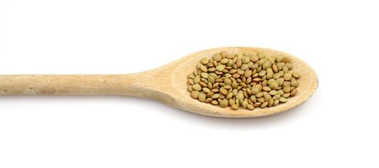 Cucchiaio con Lenticchie - Spoon with lentils