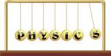 physics - newton`s cradle poster