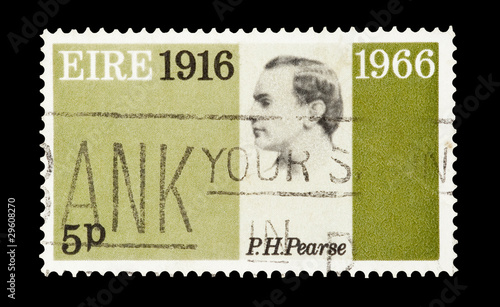 Eire stamp featuring Irish revolution martyr Patrick Pearse
