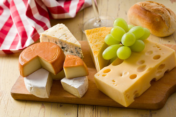 still life with cheeses