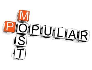 Most Popular Crossword