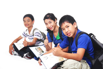 young students
