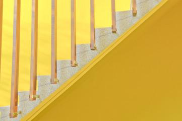 Yellow ladder background