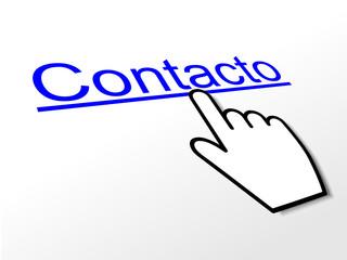 """""""CONTACTO"""" Link (servicio al cliente llámenos contáctenos botón)"""