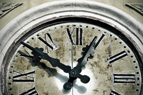 ancient wall clock - 29616493