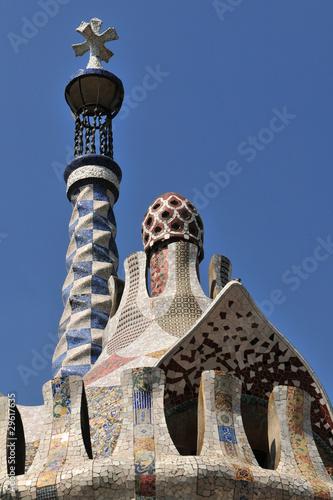 Gaudi roof - Barcelona