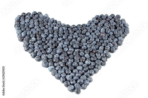 Blueberry Heart Organic