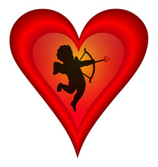 Cupid's With Heart