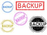 5 Grunge Stamps - Backup poster