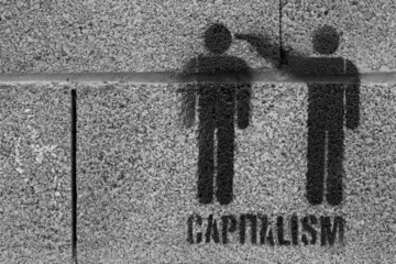 Protest against capitalism