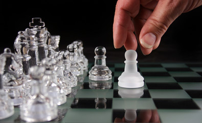 Chess Moves- The Retreat