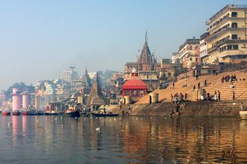 holy Indian city Varanasi