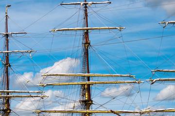 sailing ship mast