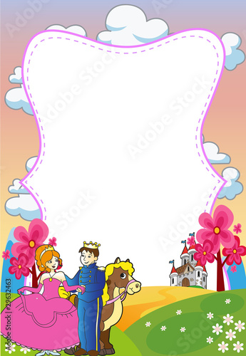 Prince and Princess Invitation
