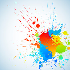 Colorful ink
