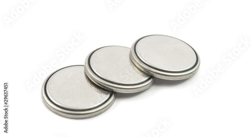 Leinwanddruck Bild round battery
