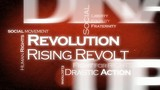 Revolution tag cloud animation poster