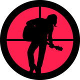 In the Scope Series – Rocker (guitar player) poster