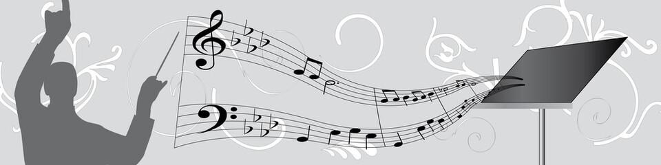 bannière chef d'orchestre