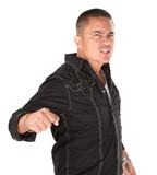 Enraged Latino Man poster