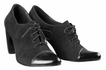 Female boots of black colour