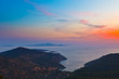 Greek islands before sunrise