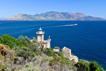 Old lighthouse, Poros, Greece