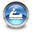 "Glossy Pictogram ""Canoeing"""