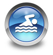 "Glossy Pictogram ""Swimming"""