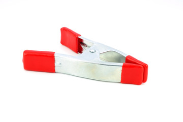 A Clamp in Red