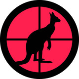 In the Scope Series – Kangaroo poster