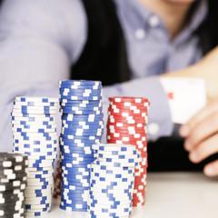 Pokerspieler Jeton