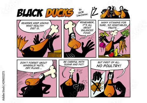 Black Ducks Comic Strip episode 66