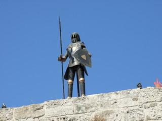 Rhodos medieval knight