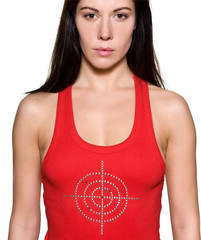 woman scapegoat  target concept