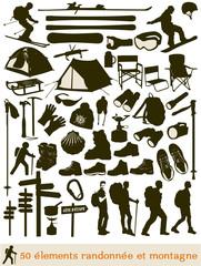 50 éléments de randonnée en montagne