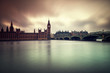 Gloomy and dark images of Houses of Parliament