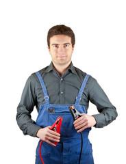 mechanic jumper cables