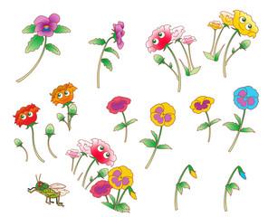 花のキャラクター(春)