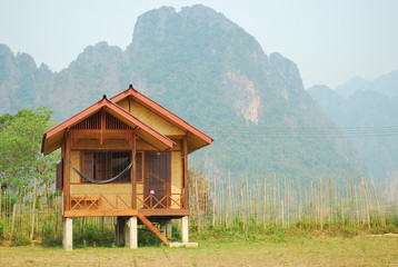 relax in Vangvieng (laos)