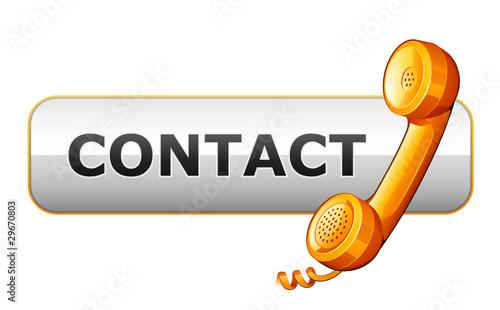 bouton contact téléphone