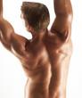 Estirando mis músculos.