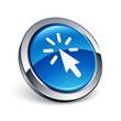 icône bouton internet curseur clic
