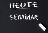 heute seminar poster