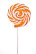 Lovely lollipop on white