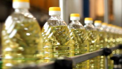 Sunflower oil factory